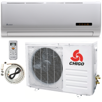 CHIGO 24,000 BTU 15 Seer 2200V Mini Split Heat Pump Air Co..