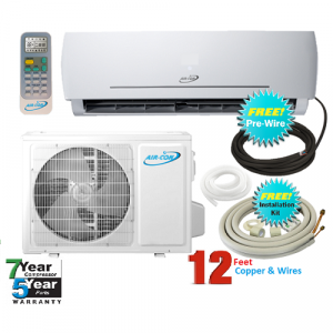 AirCon 18000 Btu 23 SEER 220V Mini Split Heat Pump Air Con..