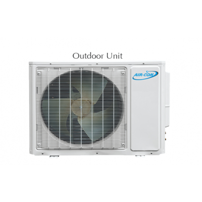 AirCon Dual Zone 18000 + 18000 BTU 21 SEER Mini Split Heat Pump AC