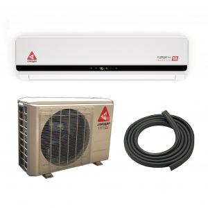 12,000 BTU MIRAGE 22 SEER 220 V INVERTER MINI SPLIT HEAT PUMP