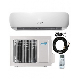 12000 BTU AIR-CON DUCTLESS MINI SPLIT AIR CONDITIONER HEAT PUMP 208-230V 25 SE..