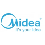 Midea 21 SEER 4 Zone Universal Mount Mini Split Heat Pump AC