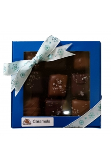 Dipped Caramels - 9 pc