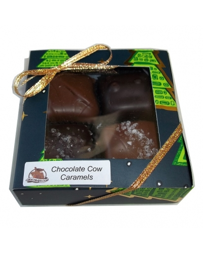 Dipped Caramels - 4 pc
