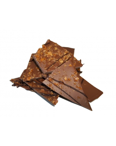 Milk Chocolate Toffee Bark