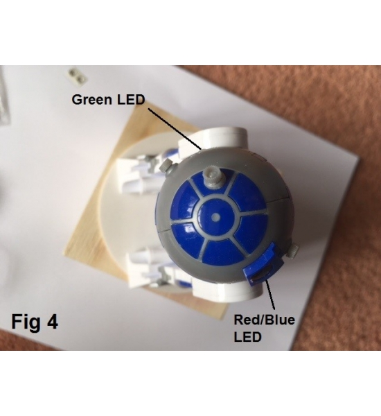 Sound and Light Kit for Bandai 1/12 R2-D2 kit