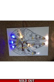 Millennium Falcon Basic Lighting Kit for FM 1/144 kit