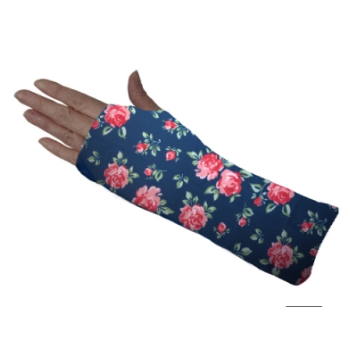 Cheshire Rose Navy Short Arm Cover
