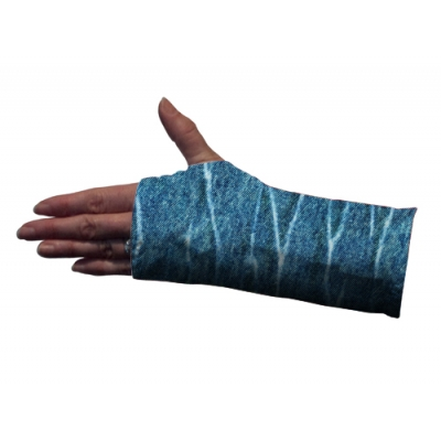 Denim Wrist Splint Cover