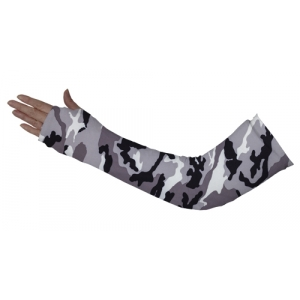 Grey Camo Full Arm Cover