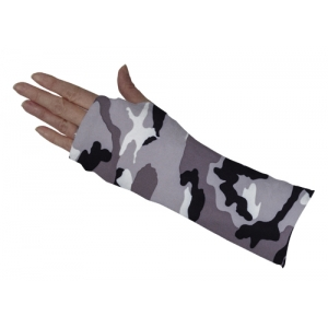 Grey Camo Short Arm Cover