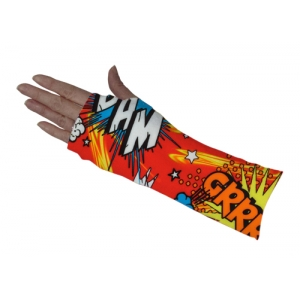 Comic Bubble Red Short Arm Cover