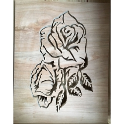 Rose Plaque