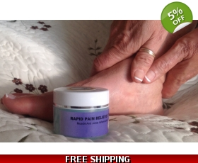 RAPID Pain-Relieving gel Sore Muscle Rub
