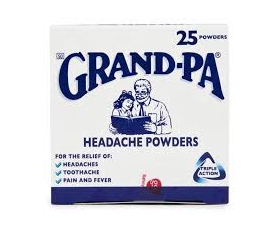 GRAND-PA HEADACHE Powders  X25