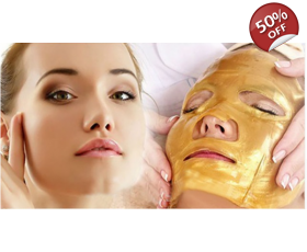 Gold Collagen Bio Crystal Face Mask anti aging and skin repair