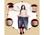 5PCS MAGNETIC SLIMMING PATCH NAVEL STICK BURNING..