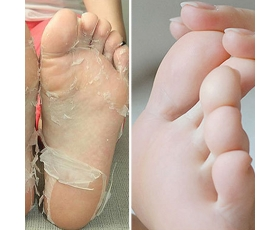 Exfoliating Peel Feet Foot Mask Baby Renewal Soft Remove Dead Skin Aloe Vera