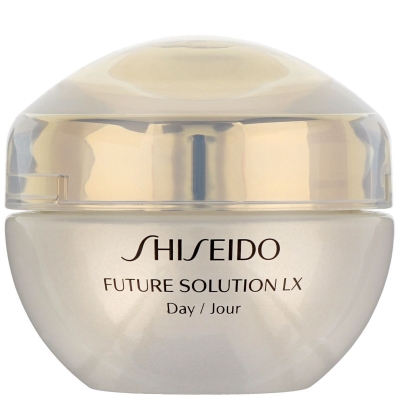 NEW SHISEIDO FUTURE SOLUTION LX TOTAL PROTECTIVE CREAM SPF 20 FOR FACE 50 ML