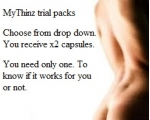 Trial packs  Mythinz  UK CUSTOMERS ONLY