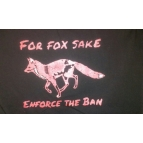 'Enforce the Ban' T shirt