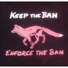 'KEEP the Ban' T shirt