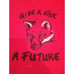GIVE A FOX tote bag