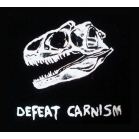 DEFEAT CARNISM t shirt