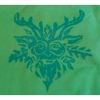 GREEN MAN tote bag Details