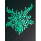 GREEN MAN t shirt