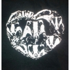 BADGERS IN MY HEART t shirt
