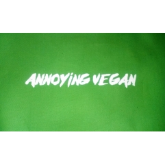 ANNOYING VEGAN t shirt