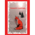 SEASON'S GREETINGS FOX CARDS