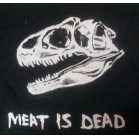 MEAT IS DEAD t shirt