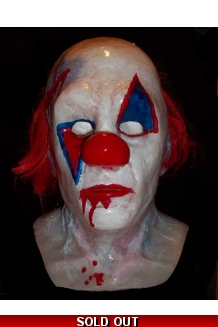 Silicone clown mask