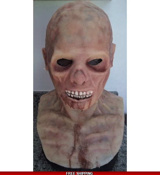 walking corpse silicone mask