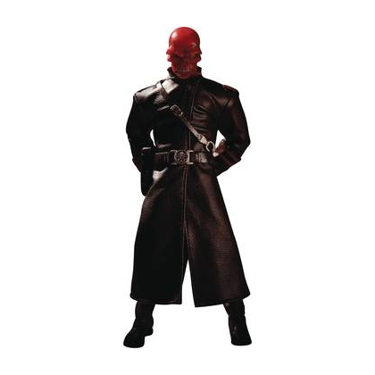 One 12 Collective Marvel Comics Red Skull Action Figure by Mezco