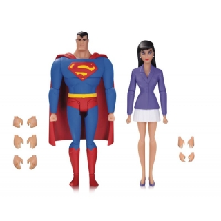 Animated DC Comics Superman & Lois Lan..