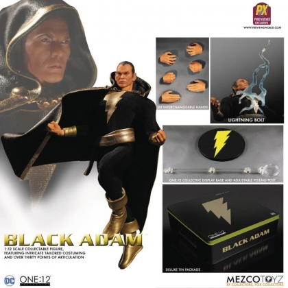 One:12 Collective DC Comics Black Adam Exclusive Action Figure