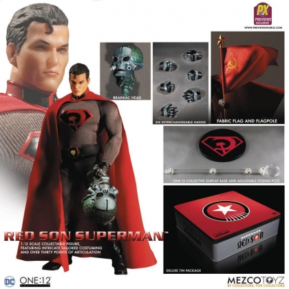One:12 Collective DC Comics Red Son Superman Exclusive Action Figure