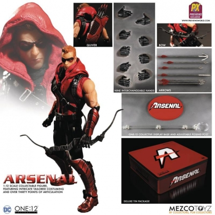 One:12 Collective DC Comics Arsenal Exclusive Action Figure By Mezco
