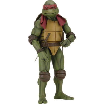 TMNT 1990 Turtles Movie Raphael 1:4 Scale Action Figure by NECA