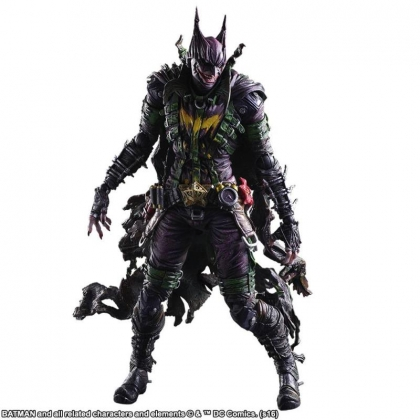Rogues Gallery Batman Variants Joker Play Arts Kai Action Figure