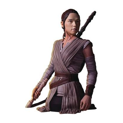 Star Wars Episode VII Rey 1:6 Scale Deluxe Bust Statue By Gentle Giant