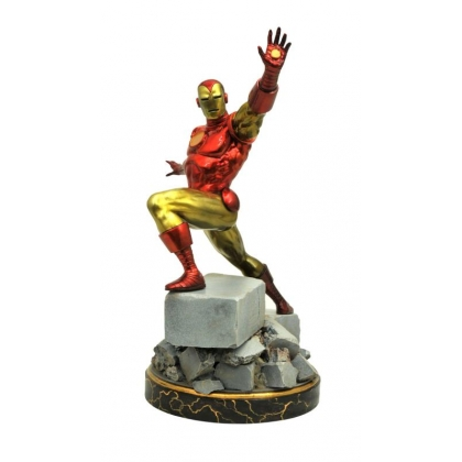 Marvel Comics Classic Iron Man Premier Collection Statue By Diamond
