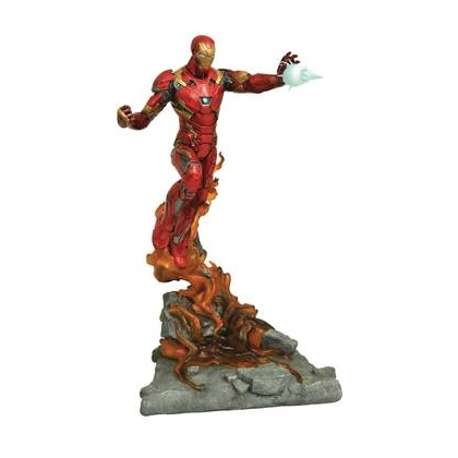 Marvel Comics Milestones Civil War Iron Man Statue By Diamond Select