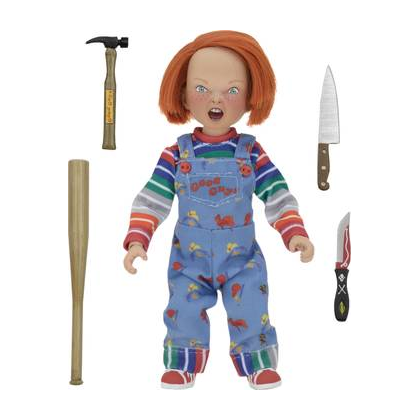 Child's Play Chucky Clothed Action Figure By NECA