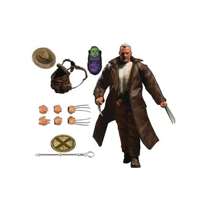 One:12 Collective Marvel Comics Old Man Logan from Mezco