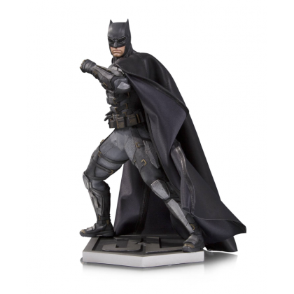DC Comics Justice League Movie Tactical Suit Batman Statue Figure