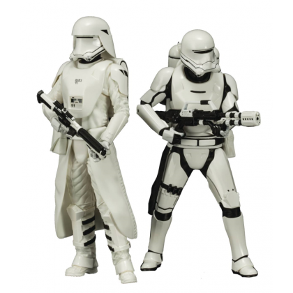 Star Wars Episode 7 ArtFX+ Snowtrooper & Flametrooper Statue 2 Pack